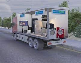 #39 for 3D Design - Truck Branding af fadi92