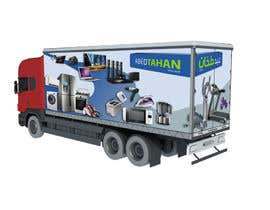 #7 for 3D Design - Truck Branding af AnastasiyaH