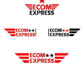 #101 for Design a Logo for eCOM Express by fmoatassem