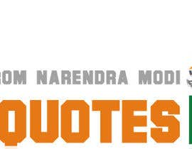 #7 for Design a Logo for www.NaMoQuotes.com af beksultanggd