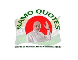 #3 for Design a Logo for www.NaMoQuotes.com af sushmagadikota