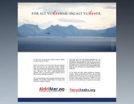#14 para Design an Advertisement for National security reporting project por F5DesignStudio