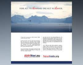 Nro 14 kilpailuun Design an Advertisement for National security reporting project käyttäjältä F5DesignStudio