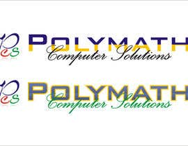 #89 for Logo Design for Polymath Computer Solutions by Jhoeldorz