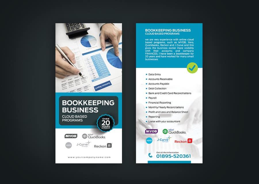 Design a Flyer for Bookkeeping Business | Freelancer