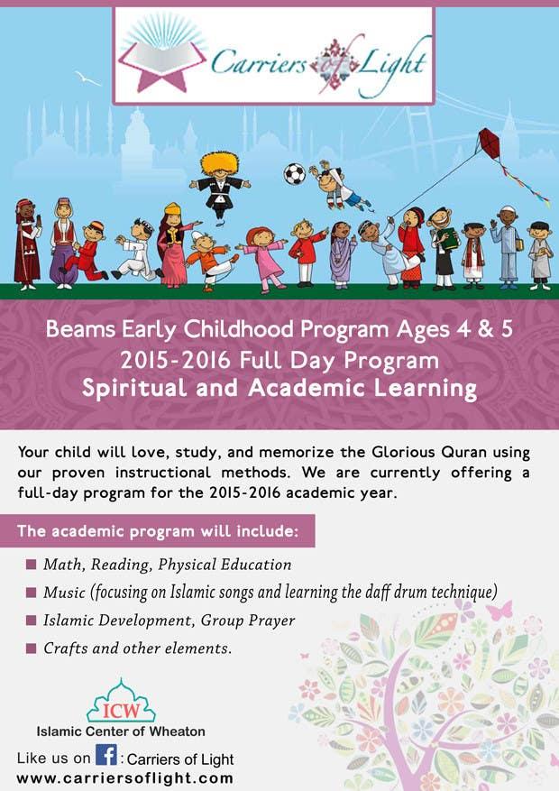 Bài tham dự cuộc thi #27 cho Design a Flyer for Preschool Program