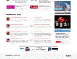 massoftware tarafından Design a Homepage mockup for our existing website WITHOUT changing the layout [PSD ONLY] için no 62
