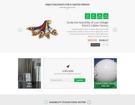 "#9 for Design a Website Mockup for  for an e-commerce Wordpress site ""MASHROO3K"" by davidnalson"