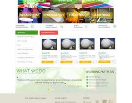 "#1 cho Design a Website Mockup for  for an e-commerce Wordpress site ""MASHROO3K"" bởi AustralDesign"