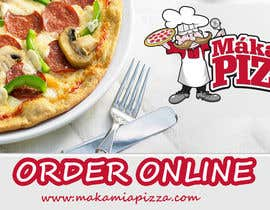 #2 cho Design a Banner for Online Ordering - Pizza bởi designerpandey