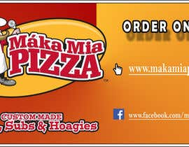 #13 cho Design a Banner for Online Ordering - Pizza bởi artist89krn