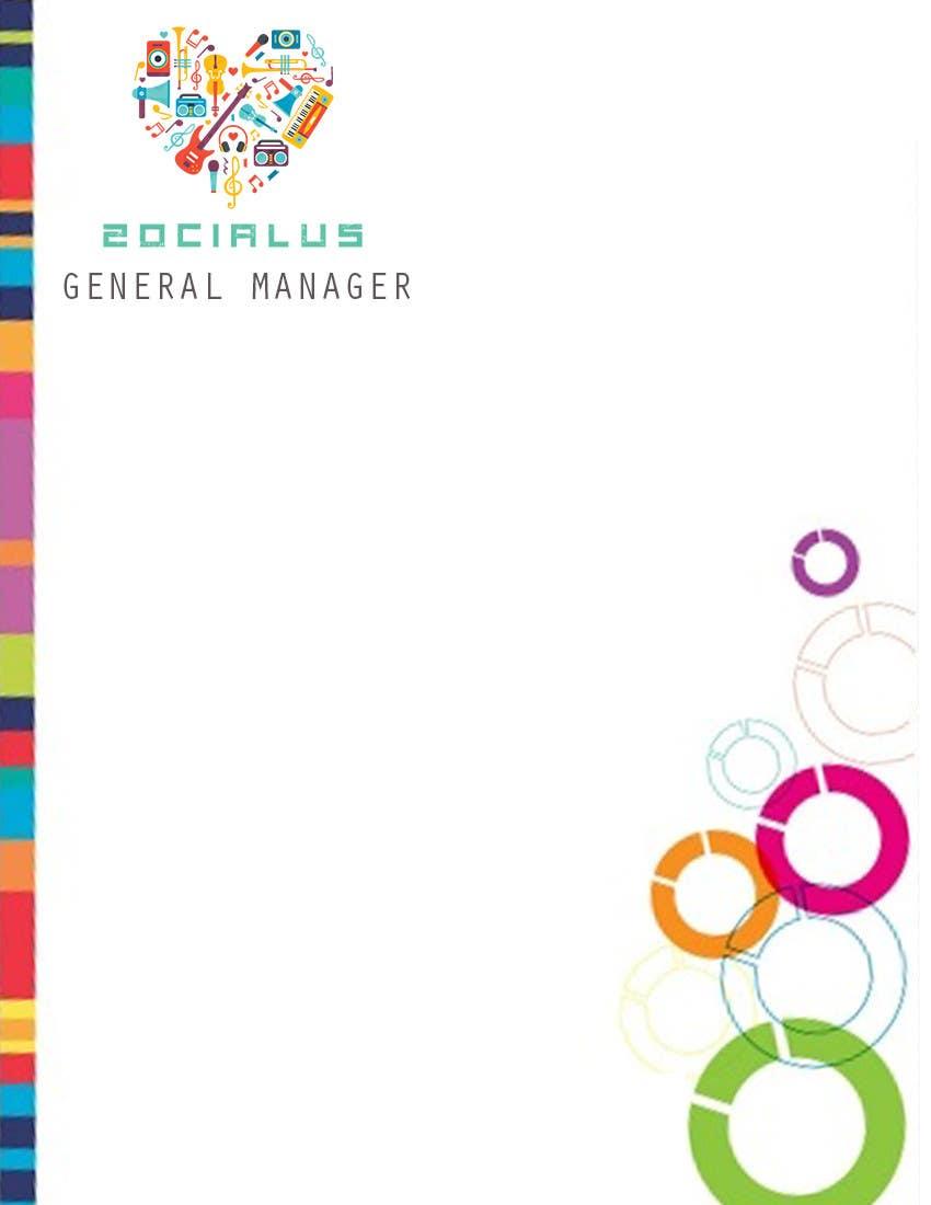 Inscrição nº 9 do Concurso para Design a Logo & Corporate Identity for Zocialus.com