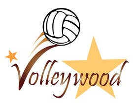#25 for Design A Volleyball + Hollywood Logo! af lilac18