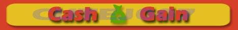 Kilpailutyö #4 kilpailussa Cash Gain app banner