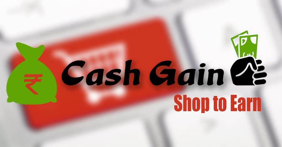Kilpailutyö #11 kilpailussa Cash Gain app banner