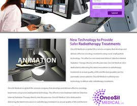 #10 untuk Design a Website Mockup for OncoSil Medical Ltd oleh clickinnovate