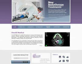 #3 for Design a Website Mockup for OncoSil Medical Ltd by DGSandra