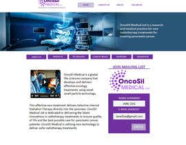 #53 for Design a Website Mockup for OncoSil Medical Ltd af freelancetutor