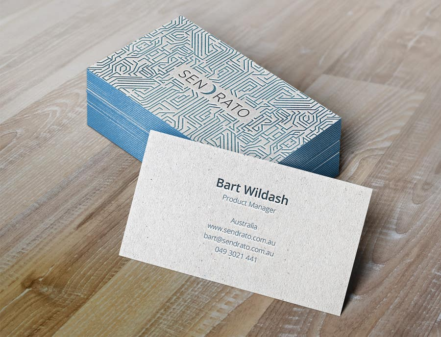 Entry #86 by loupesko for Design some Business Cards for Sendrato ...