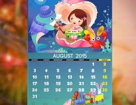 #11 para Design a voucher calendar for a 1st grade of primary school por stylishwork