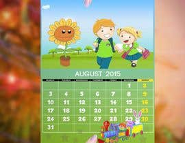 #12 for Design a voucher calendar for a 1st grade of primary school af stylishwork