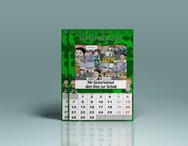 #10 para Design a voucher calendar for a 1st grade of primary school por DuckFactory