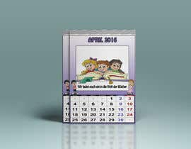 #19 para Design a voucher calendar for a 1st grade of primary school por DuckFactory