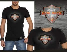 #129 para Design a Logo for Gym Rats por airbrusheskid