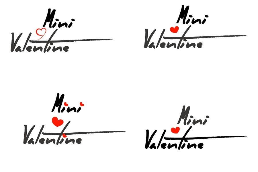 Penyertaan Peraduan #55 untuk Design a Logo for Mini Valentine