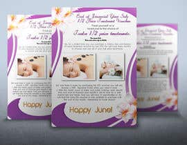 nº 6 pour Design a Flyer, Email and Printer Friendly for Monthy Voucher Special to Beauty clientele. par rogeriolmarcos