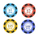 Graphic Design Inscrição do Concurso Nº11 para Design Poker Chips for my home Casino