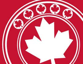 #25 for Canada Themed Vertical Banner af teAmGrafic