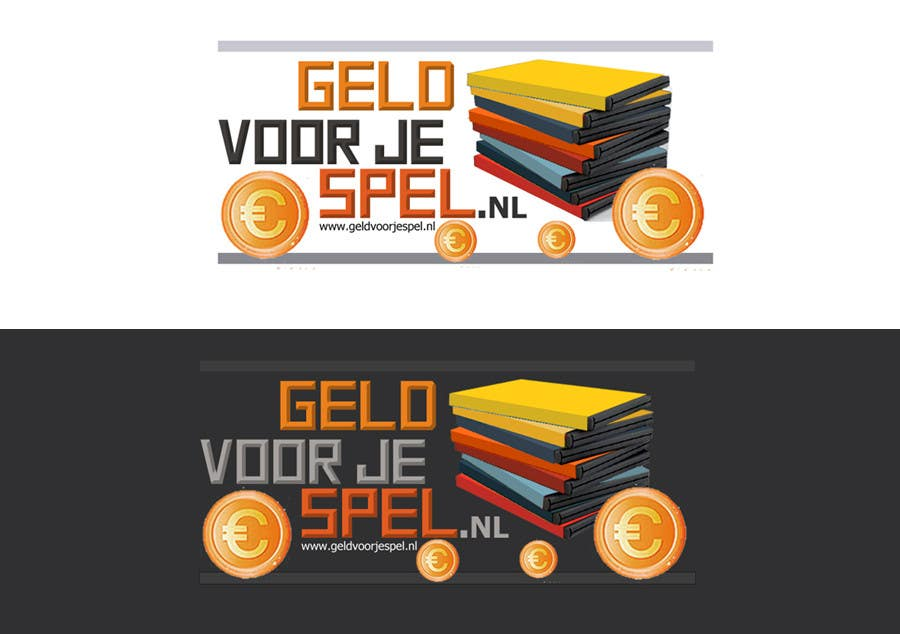 Penyertaan Peraduan #74 untuk Design a Logo for our new game trade-in website Geld voor je Spel
