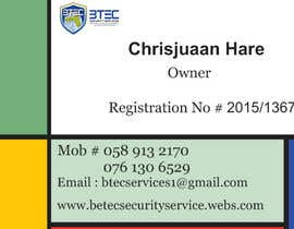 #7 para Design a letterhead and business cards for a security company por TJerin