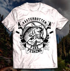 #2 untuk Design a T-Shirt for outdoor/fishing apparel company oleh iraelan