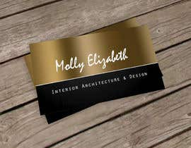 shefalipanwar tarafından Design some Business Cards for Interior Designer için no 56
