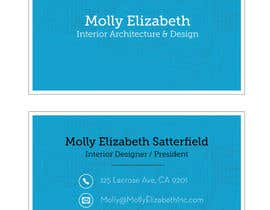 chipchipdesign tarafından Design some Business Cards for Interior Designer için no 25