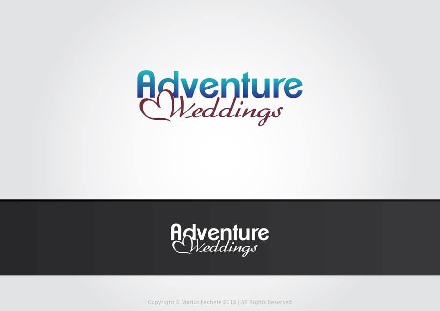 Penyertaan Peraduan #32 untuk Design a Logo for Adventure Weddings
