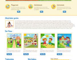 #4 for Design a Website Mockup for Pre-school center website af techmatris2012