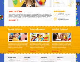 #10 for Design a Website Mockup for Pre-school center website af DesignExpert007