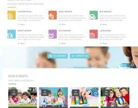 #12 for Design a Website Mockup for Pre-school center website af sriram143341