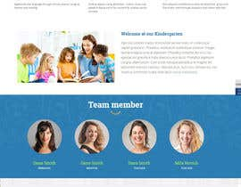 #8 untuk Design a Website Mockup for Pre-school center website oleh lassoarts