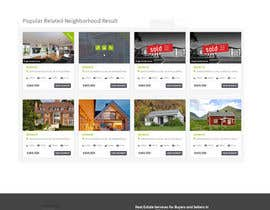 #19 for Mock up pages for a real estate site utilizing the ken WordPress theme af Ganeshdas