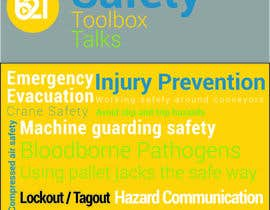 #1 untuk Book cover design for Safety Training Guide oleh SkinnyDesigner