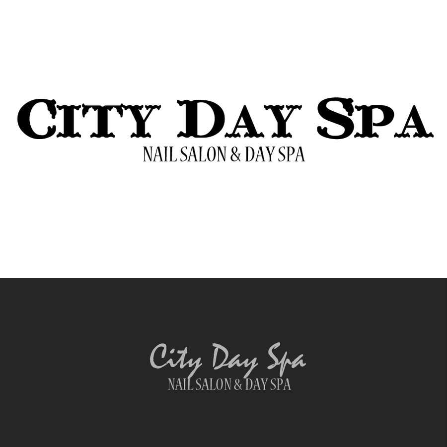 """Konkurrenceindlæg #7 for Create a badge style logo for """"City Day Spa"""" using template file"""