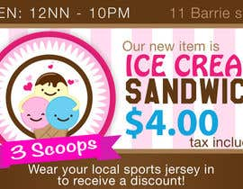 #1 for Ice Cream shop Ad by acelobos9