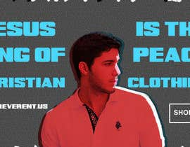 #29 para Design a Banner for www.reverent.us por TheManOnFire83