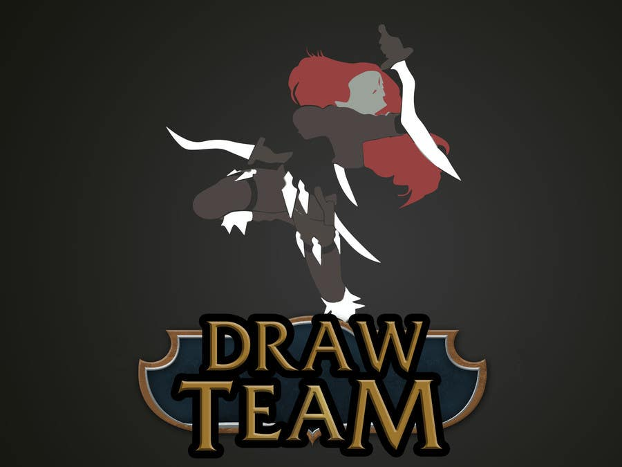 Kilpailutyö #15 kilpailussa Design a Logo for League of Legend team 'DRAW'