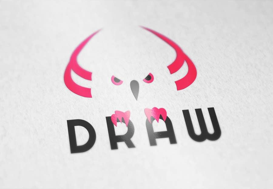 Kilpailutyö #1 kilpailussa Design a Logo for League of Legend team 'DRAW'