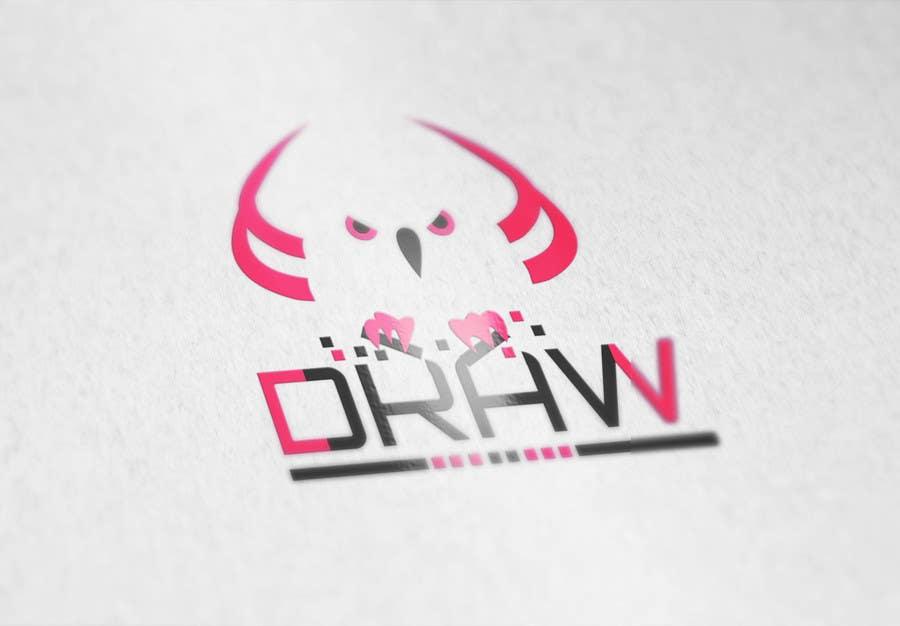 Kilpailutyö #18 kilpailussa Design a Logo for League of Legend team 'DRAW'